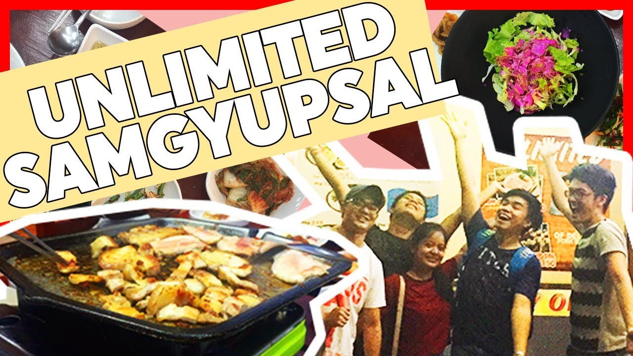 unlimited samgyupsal in cavite jamesvlogs youtube rh youtube com