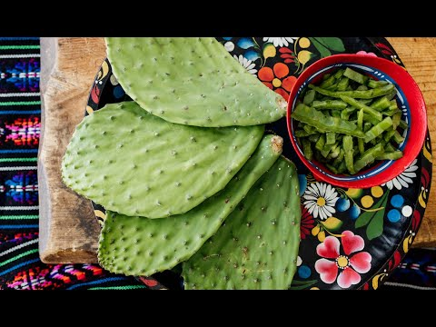 How to Prep and Cook Nopales