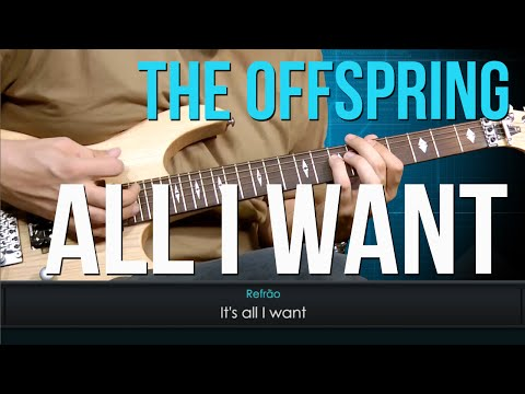 The Offspring - All I Want  (como tocar - aula de guitarra)