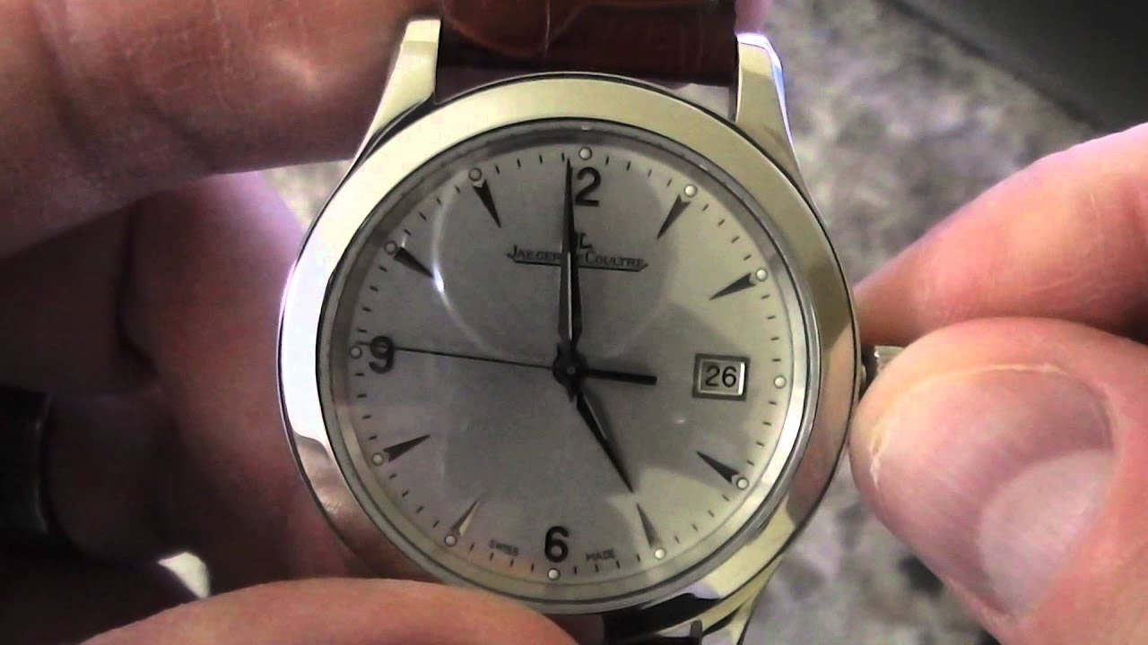 Automatic Watch Setting Time Amp Date Tutorial Youtube