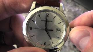 Automatic Watch - Setting Time & Date Tutorial