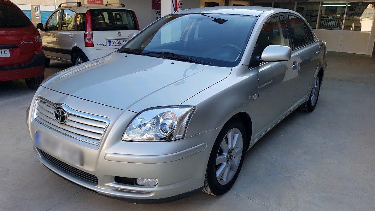 TOYOTA AVENSIS 2004   Executive VVT-i 2.0cc 147cv   Car Review