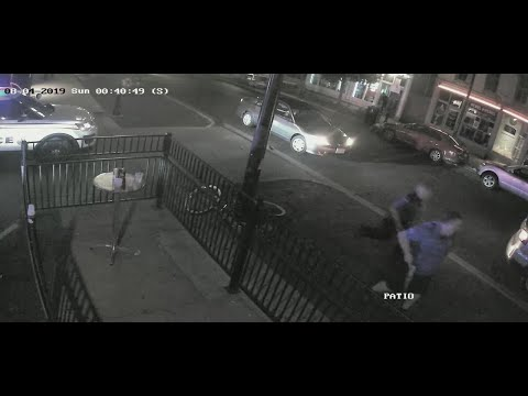 Police release surveillance video from Dayton mass shooting