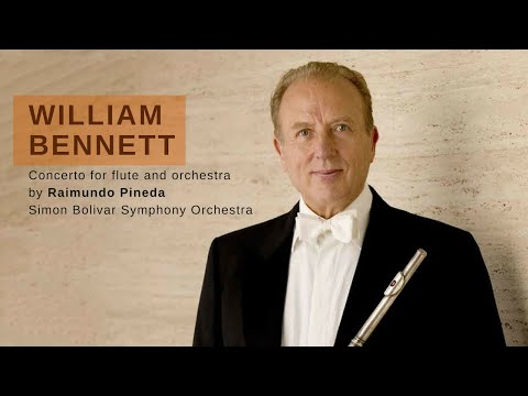 Concerto Nº1 for flute and orchestra by Raimundo Pineda. Soloist: William Bennett