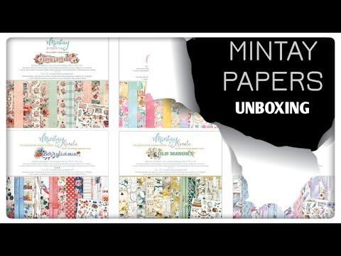 Mintay Papers Unboxing (2020 Dream Team DT Box)