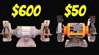 BENCH GRINDER - MOST EXPENSIVE vs. CHEAPEST