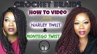 How To | Crochet Braids: Narley Twist & Montego Twist