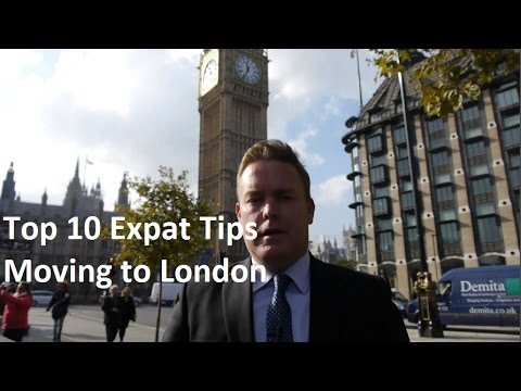 Expat Tips For Moving To London