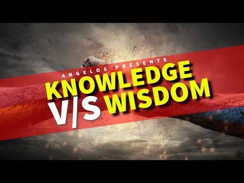 Knowledge v/s Wisdom fight
