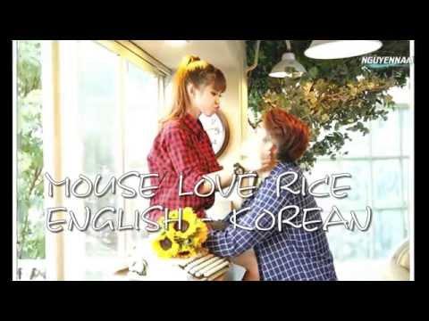[Sub Kara ] Chuột Yêu Gạo ( Mouse Love Rice )- Khởi My , Kelvin Khánh - English, Korean