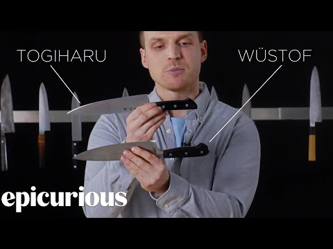 Knifemaker Explains The Difference Between Chef's Knives | E