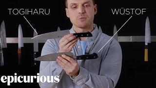 Knifemaker Explains The Difference Between Chef's Knives | Epicurious