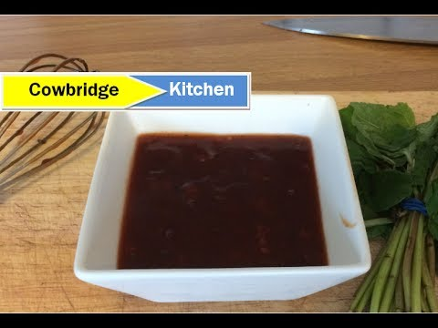 How to Make BBQ Marinade for Ribs, Chicken & Pork