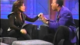 Paula Abdul on Arsenio Hall Show