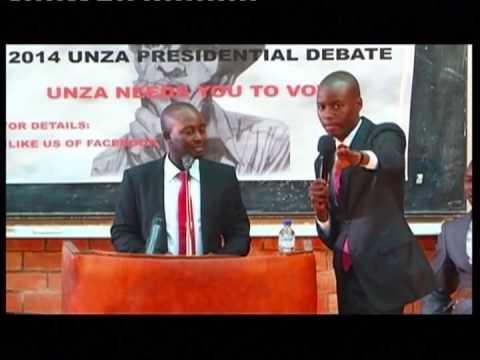saviour mwale unza debate3