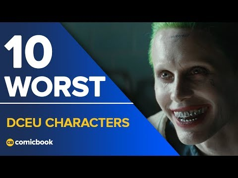 10 Worst DCEU Characters