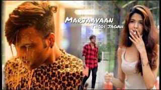 Marjaavaan: Thodi Jagah Video | sad love story | As creation | ft.Akash & kshitija