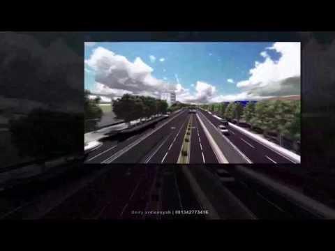 Rencana Jalan Underpass Simpang Tiga AP.Pettarani Makassar
