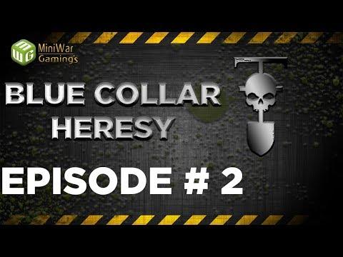 Going Underground - Blue Collar Heresy (Dark Heresy 2nd Edition) Ep 2
