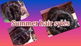 Summer hair styles   party wea…
