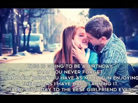 10 Most Romantic Birthday Quotes For Your Girlfriend YouTube