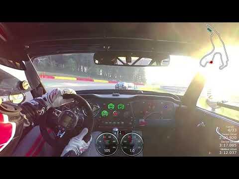 Spa Classic 2018 Sixties Endurance Course Triumph TR4