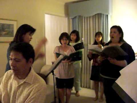 Song of Ruth (Wherever You Go) at practice