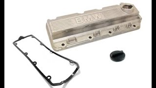 How to replace gasket cylinder head cover on BMW E36