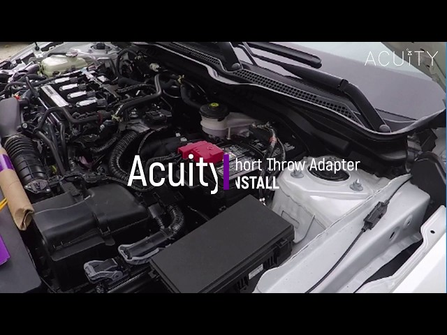 ACUITY 1923 Short Throw Adapter Installation Guide for the 10th Gen Civic