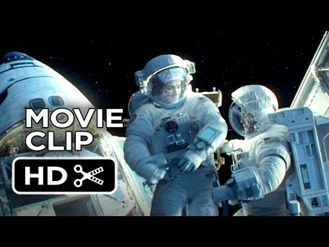 Gravity Extended CLIP - Detached (2013) - Sandra Bullock Movie HD