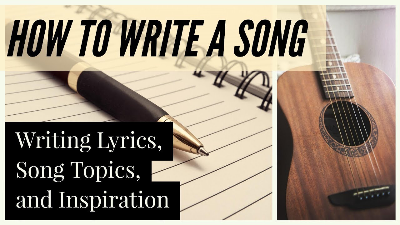 tips on writing a song