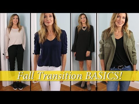Transition Outfits ~ How to Transition from Summer to Fall!