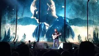 Ed Sheeran Divide Tour @ Wells Fargo Center 7.11.17 Galway Girl / Feeling Good/I See Fire