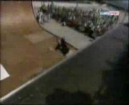 Borja Fernandez European Xgames 02 winning run(EuroSport TV)