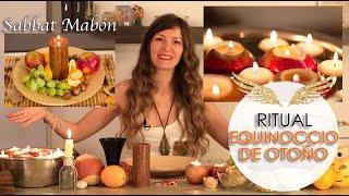 Ritual de Equinoccio de Otoño para traer Abundancia - Sabbat Mabón