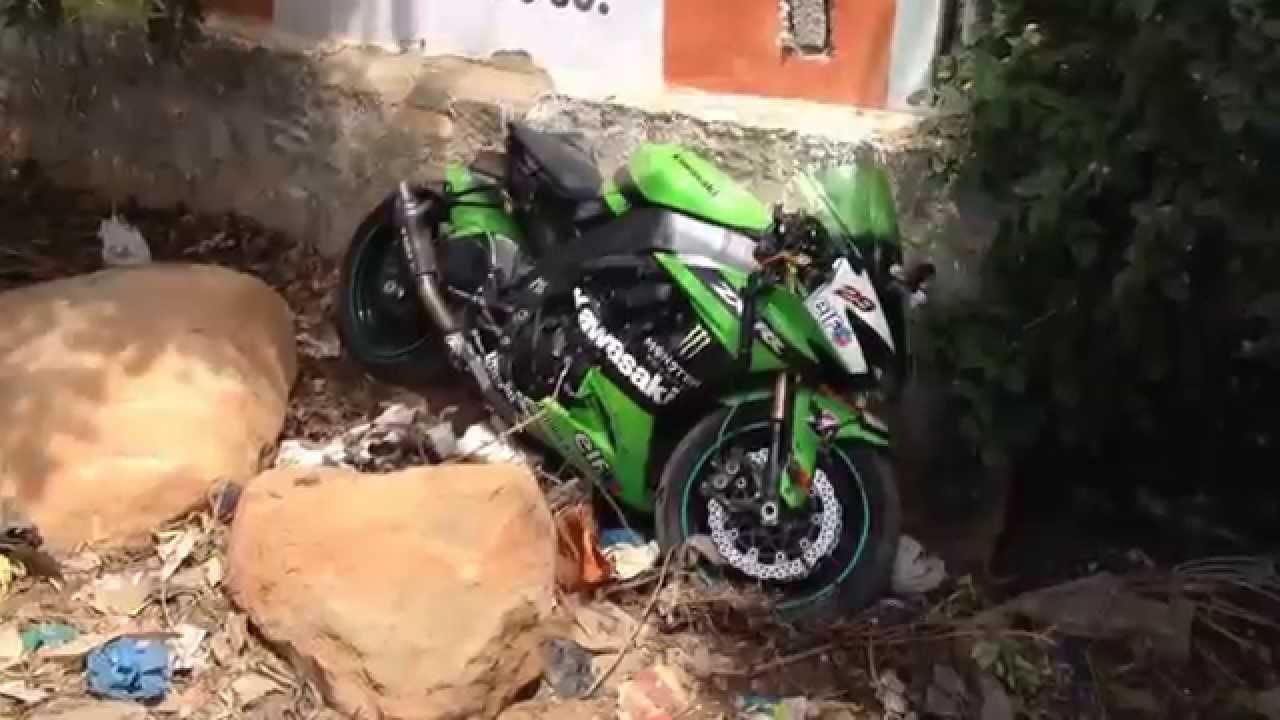 Zx10r Crash Superbike Wheelie Failindia Youtube