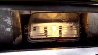Личный опыт. Распаковка и установка фонарей освещения номерных знаков на автомобиль Citroen