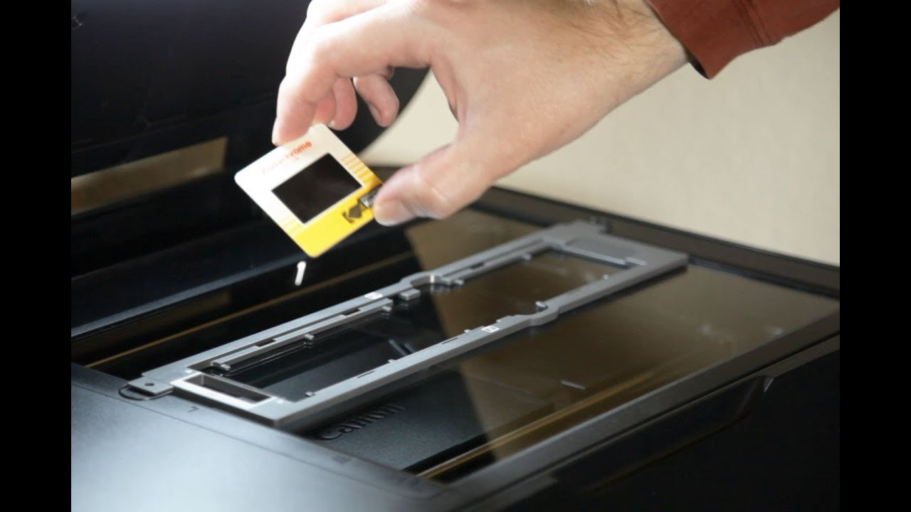 Slide And Film Scanning With Canon Multifunction Printers