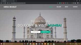Create Animated Website Using HTML5 & CSS3 in Hindi with Source Code 2019