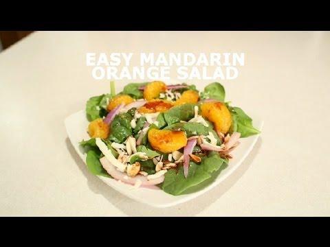 Easy Mandarin Orange Salad : Salads