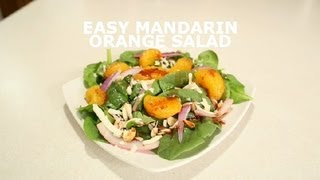 Easy Mandarin Orange Salad : Salads