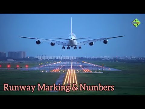 Runway Marking & Number Explained In Detail  Part 1(English Caption)
