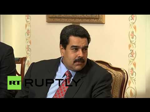 """Russia: """"Venezuela will always be with Russia"""" - Maduro to Putin at oil talks"""