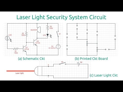 How To Make A Laser Light Security Alarm System At Home Digital