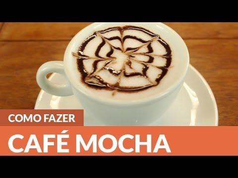 Como fazer Café Mocha em casa