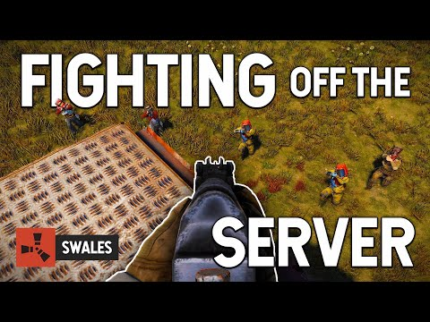 FIGHTING OFF THE SERVER - RUST