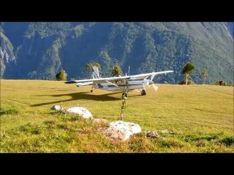 Pilatus Porter PC-6 Hogio Airstrip Papua Indonesia