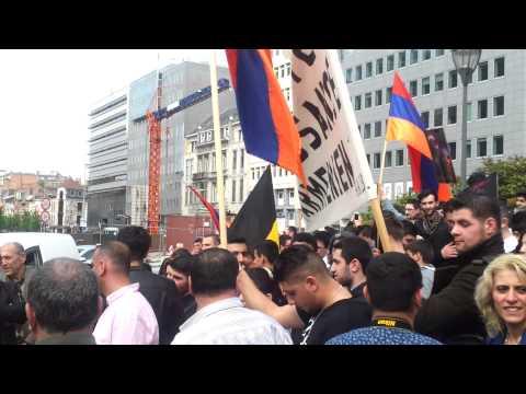Armenian genocide commemoration in Brussel 2014 Part 2