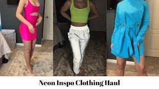 Neon Inspo Clothing Haul