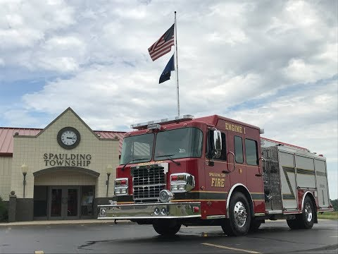 Spaulding Township Fire Department Receives Spartan S-180